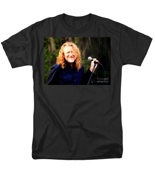Robert Plant Men's T-Shirt  (Regular Fit) by Angela Murray
