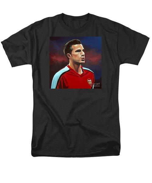 Robin Van Persie Men's T-Shirt  (Regular Fit) by Paul Meijering