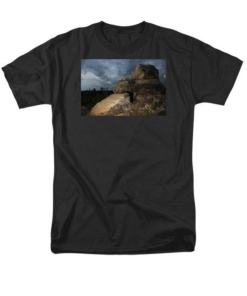 Roche Percee Peak Men's T-Shirt  (Regular Fit) by Ryan Crouse