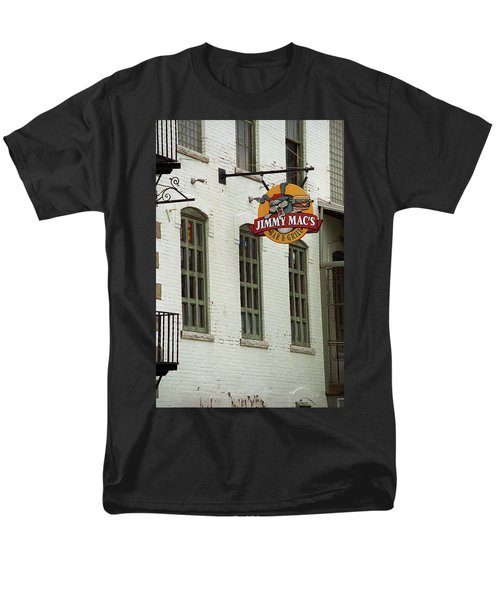 Men's T-Shirt  (Regular Fit) featuring the photograph Rochester, New York - Jimmy Mac's Bar 3 by Frank Romeo