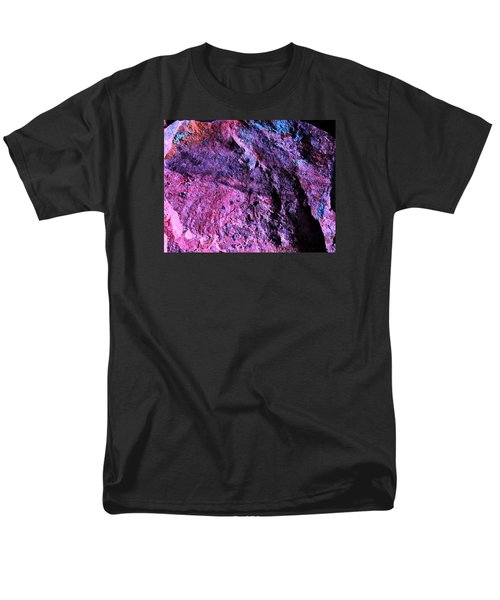 Rock Colors 1 Men's T-Shirt  (Regular Fit) by M Diane Bonaparte