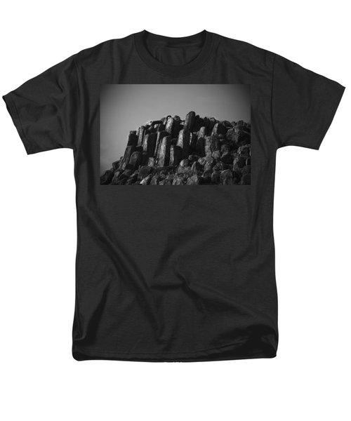 Men's T-Shirt  (Regular Fit) featuring the photograph Monument To Glacier by Yulia Kazansky