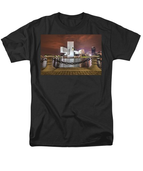 Men's T-Shirt  (Regular Fit) featuring the photograph Rock Hall And The North Coast by Brent Durken