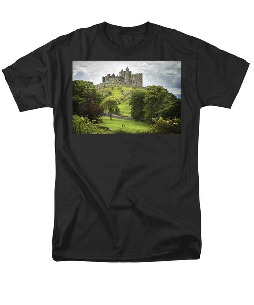 Rock Of Cashel Cashel County Tipperary Men's T-Shirt  (Regular Fit) by Patrick Swan