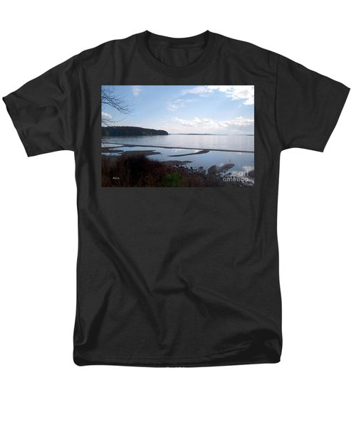 Men's T-Shirt  (Regular Fit) featuring the photograph Rock Point North View Horizontal by Felipe Adan Lerma