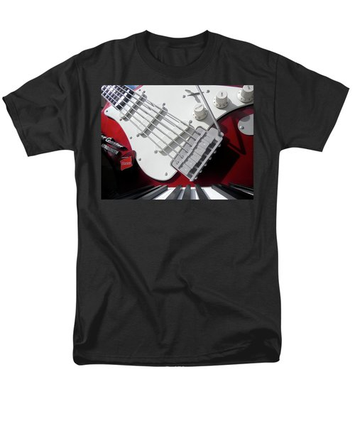 Men's T-Shirt  (Regular Fit) featuring the photograph Rock'n Roller Coaster Aerosmith by Juergen Weiss