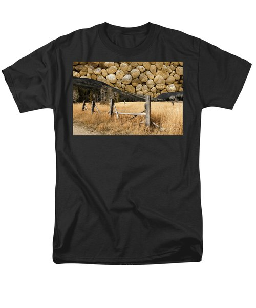 Men's T-Shirt  (Regular Fit) featuring the photograph Rocky Mountain Sky by John Stephens