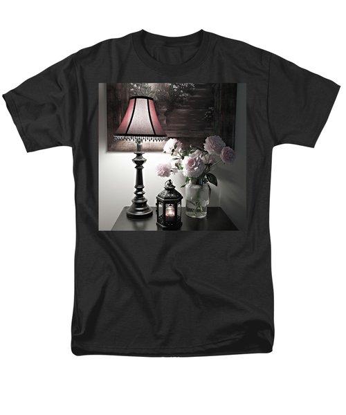 Romantic Nights Men's T-Shirt  (Regular Fit) by Sherry Hallemeier