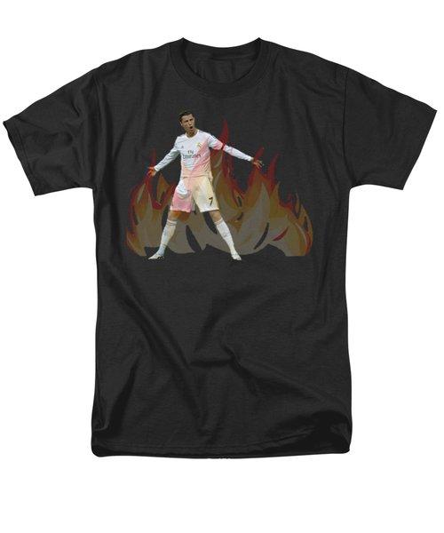 Ronaldo Men's T-Shirt  (Regular Fit) by Vincenzo Basile