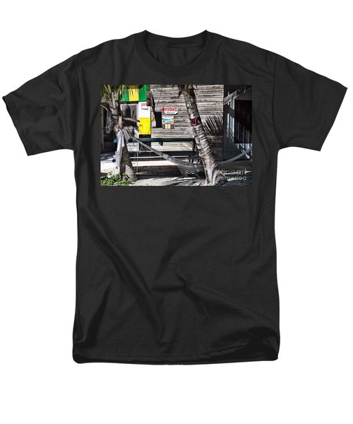 Men's T-Shirt  (Regular Fit) featuring the photograph Rooms Available by Lawrence Burry