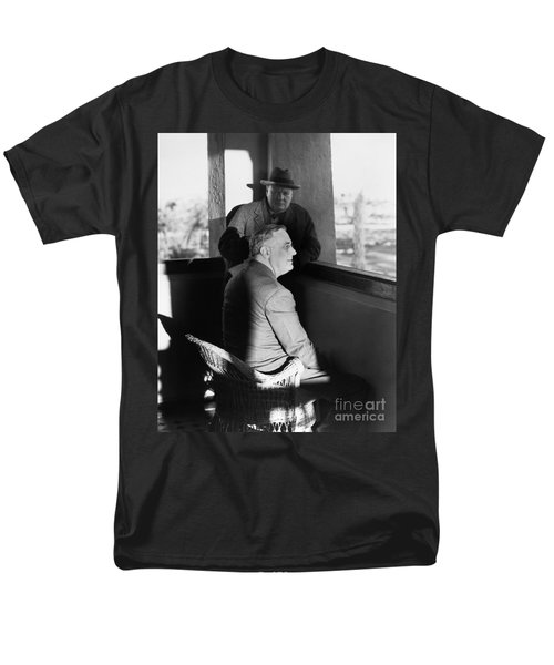 Roosevelt And Churchill Men's T-Shirt  (Regular Fit) by Granger