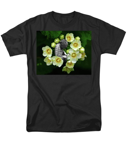 Men's T-Shirt  (Regular Fit) featuring the photograph Rory Flower by Ben Upham