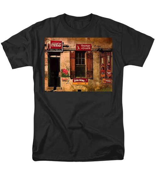 Rosas Cafe Men's T-Shirt  (Regular Fit) by J Griff Griffin