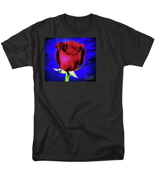 Rose - Beauty And Love  Men's T-Shirt  (Regular Fit) by Ray Shrewsberry