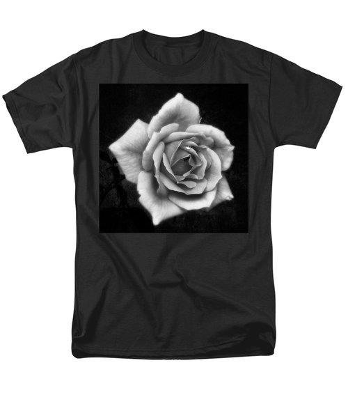 Rose In Mono. #flower #flowers Men's T-Shirt  (Regular Fit) by John Edwards