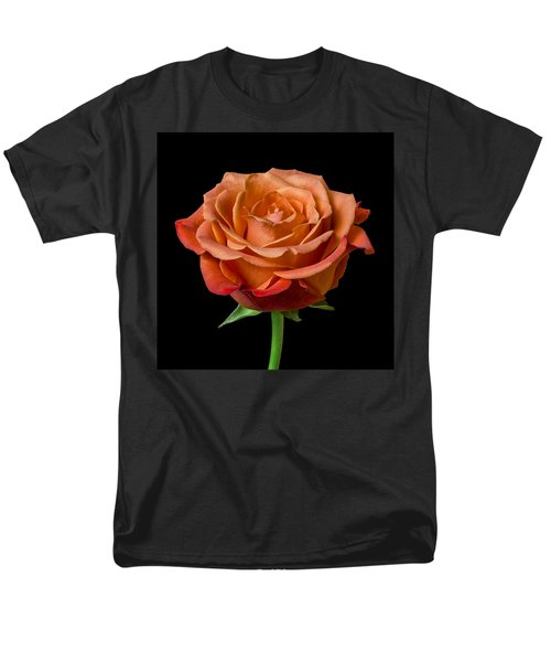 Rose Men's T-Shirt  (Regular Fit) by Jim Hughes