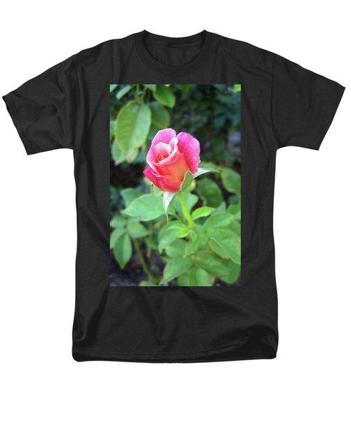 Rosebud Men's T-Shirt  (Regular Fit) by Mary Ellen Frazee