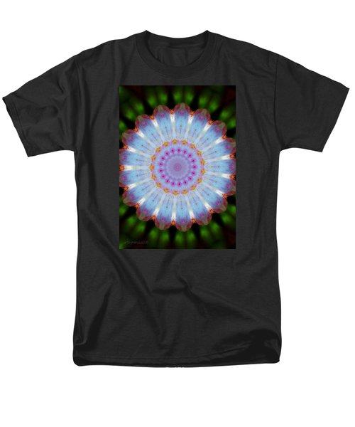 Rosepetals Mandala Men's T-Shirt  (Regular Fit) by Mimulux patricia no No