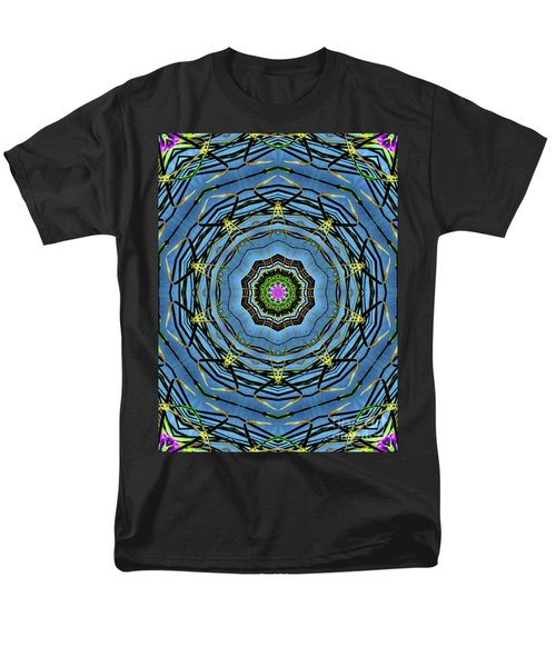 Round And Round  Men's T-Shirt  (Regular Fit) by Christy Ricafrente