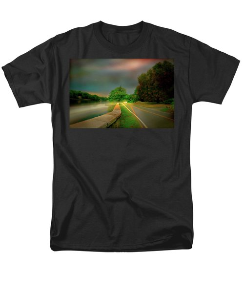 Men's T-Shirt  (Regular Fit) featuring the photograph Round The Bend by Diana Angstadt