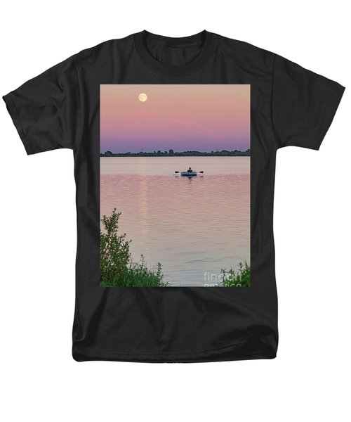 Rowing To The Moon Men's T-Shirt  (Regular Fit)