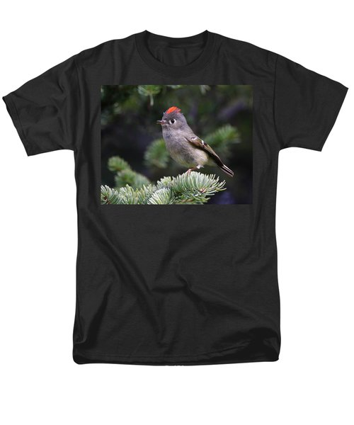 Rubycrowned Kinglet Men's T-Shirt  (Regular Fit) by Doug Lloyd
