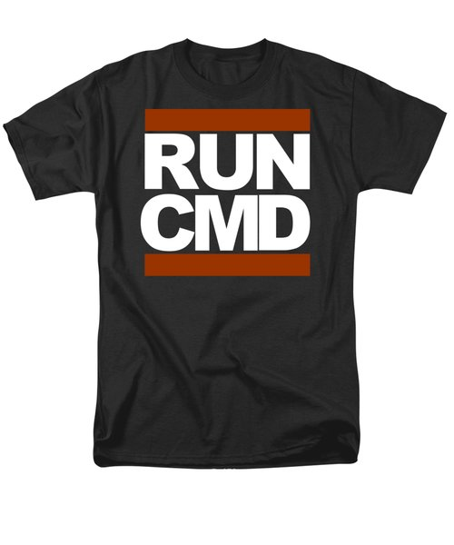 Men's T-Shirt  (Regular Fit) featuring the photograph Run Cmd by Darryl Dalton