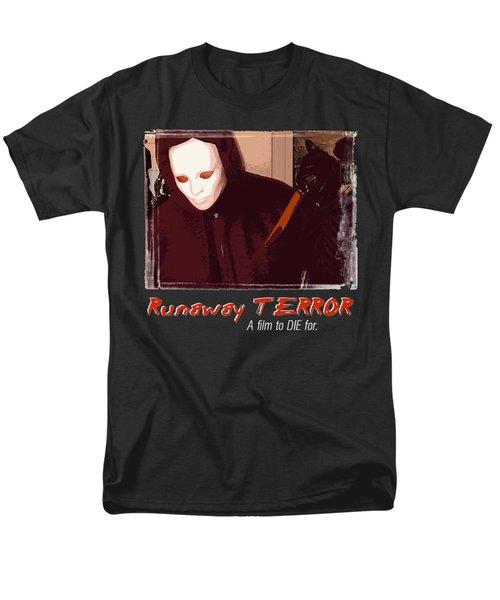 Runaway Terror 4 - Black Men's T-Shirt  (Regular Fit) by Mark Baranowski