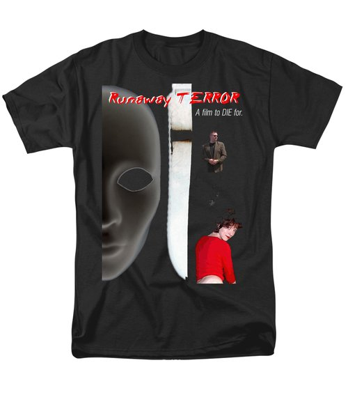 Runaway Terror 5 - Black Men's T-Shirt  (Regular Fit) by Mark Baranowski