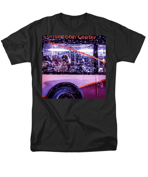 Rush Hour On A Rainy Monday Evening In Men's T-Shirt  (Regular Fit)