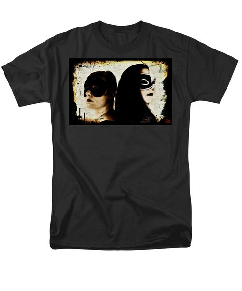 Men's T-Shirt  (Regular Fit) featuring the digital art Ryli And Corinne 1 by Mark Baranowski
