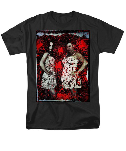 Men's T-Shirt  (Regular Fit) featuring the digital art Ryli And Corinne 2 by Mark Baranowski