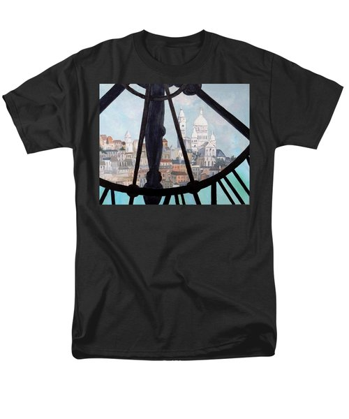 Sacre Coeur From Musee D'orsay Men's T-Shirt  (Regular Fit) by Diane Arlitt