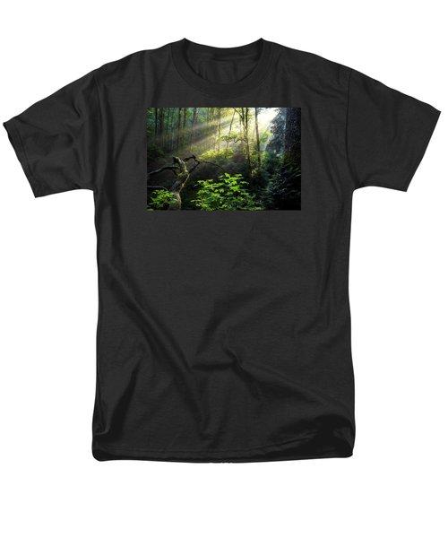 Sacred Light Men's T-Shirt  (Regular Fit) by Chad Dutson