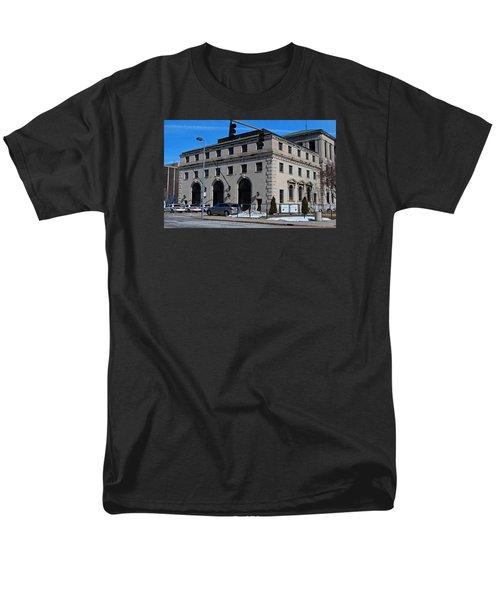 Safety Building Men's T-Shirt  (Regular Fit) by Michiale Schneider