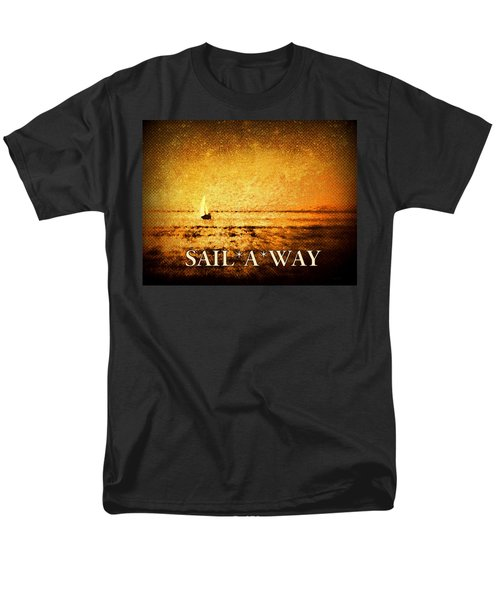 Men's T-Shirt  (Regular Fit) featuring the photograph Sail Away by Kathy Bassett