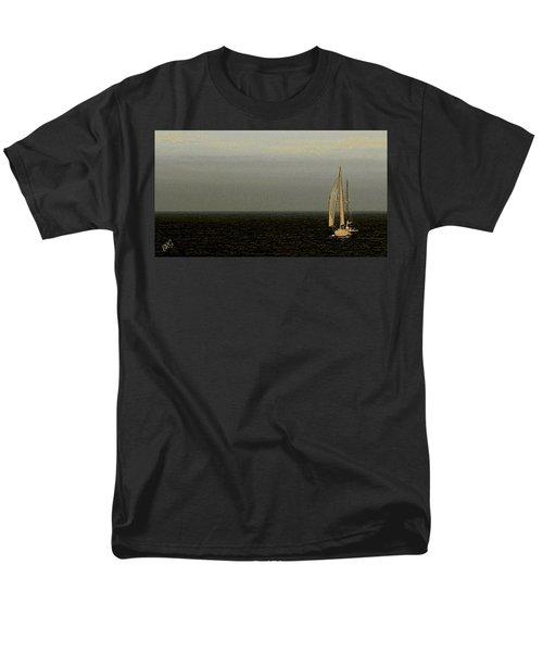 Sailing Men's T-Shirt  (Regular Fit) by Ben and Raisa Gertsberg