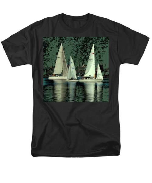 Sailing Reflections Men's T-Shirt  (Regular Fit) by David Patterson