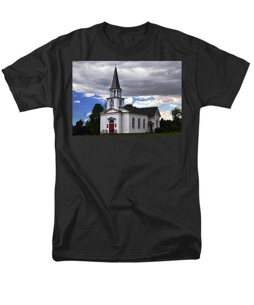 Men's T-Shirt  (Regular Fit) featuring the photograph Saint James Episcopal Church 001 by George Bostian