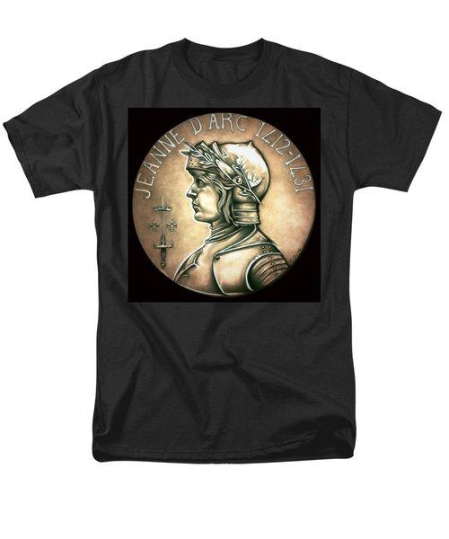 Saint Joan Of Arc Men's T-Shirt  (Regular Fit) by Fred Larucci