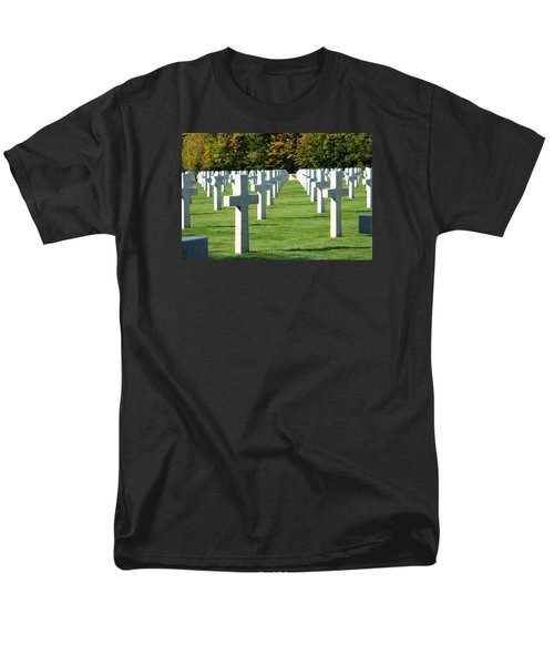 Men's T-Shirt  (Regular Fit) featuring the photograph Saint Mihiel American Cemetery by Travel Pics