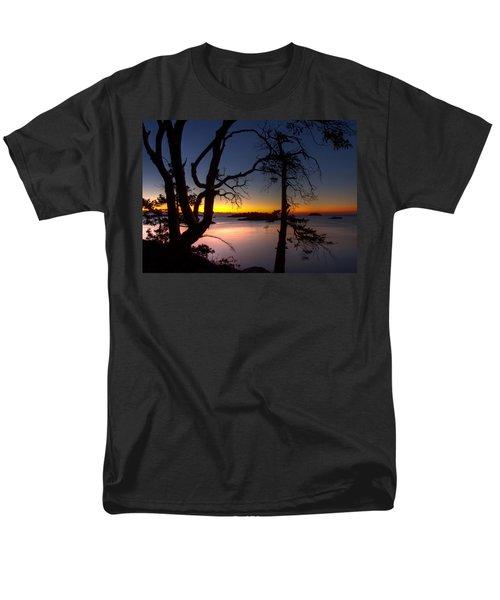 Salish Sunrise Men's T-Shirt  (Regular Fit) by Randy Hall