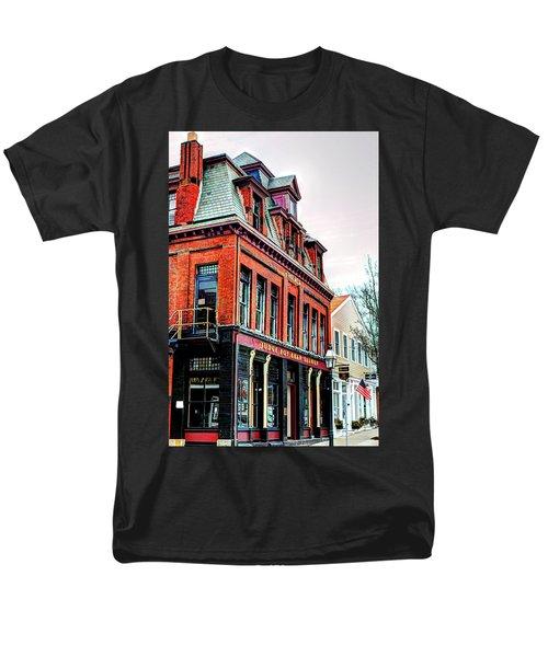 Men's T-Shirt  (Regular Fit) featuring the photograph Saloon Bristol Ri by Tom Prendergast