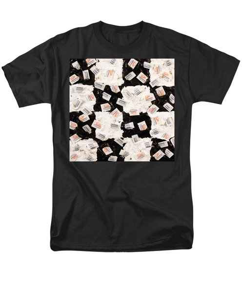 Men's T-Shirt  (Regular Fit) featuring the painting Salt And Pepper by Thomas Blood