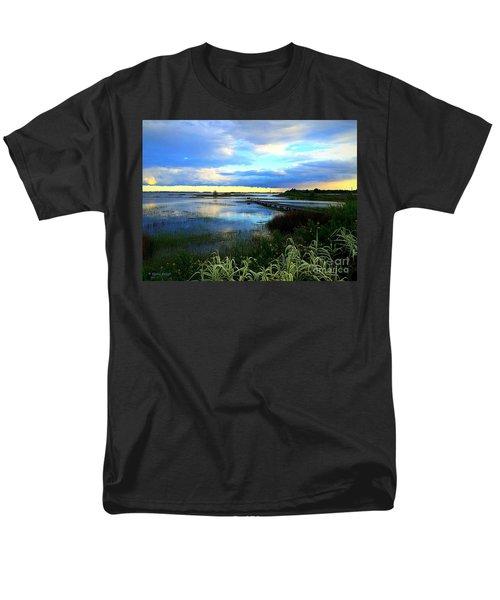 Men's T-Shirt  (Regular Fit) featuring the photograph Salt Marsh by Shelia Kempf
