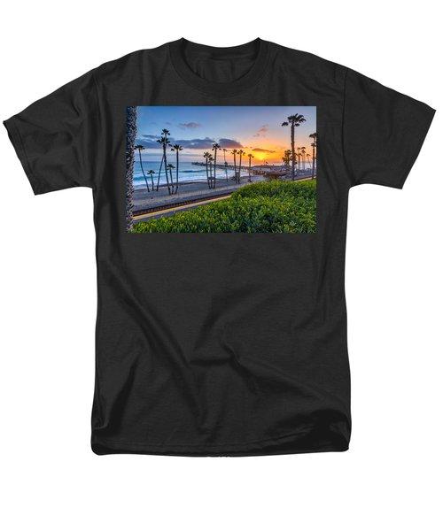 San Clemente Men's T-Shirt  (Regular Fit) by Peter Tellone