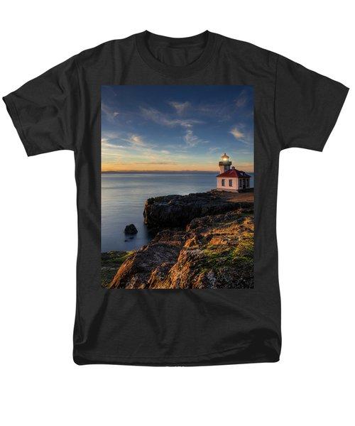 Men's T-Shirt  (Regular Fit) featuring the photograph San Juan Island Serenity by Dan Mihai