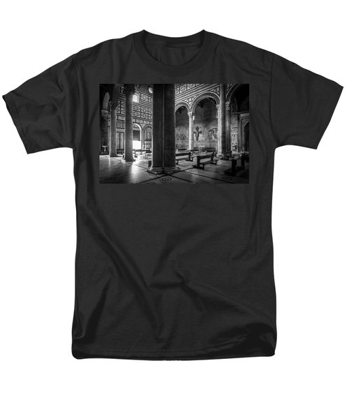 Men's T-Shirt  (Regular Fit) featuring the photograph San Miniato Al Monte by Sonny Marcyan
