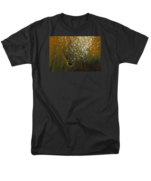 Men's T-Shirt  (Regular Fit) featuring the photograph Sand And Sun And Water 2  by Lyle Crump