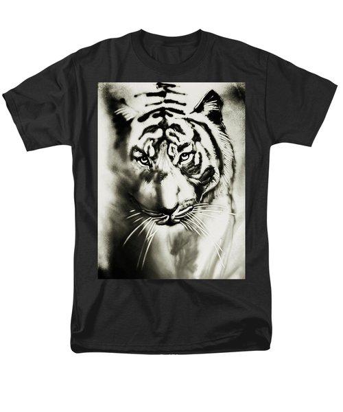 Sandy Tiger Men's T-Shirt  (Regular Fit) by Elena Vedernikova